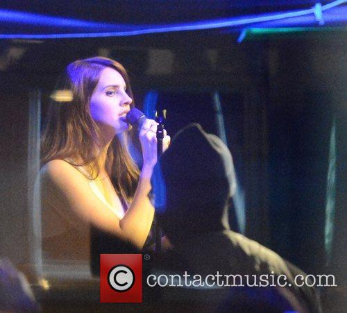 Lana Del Rey performing at Jazz Cafe, Camden