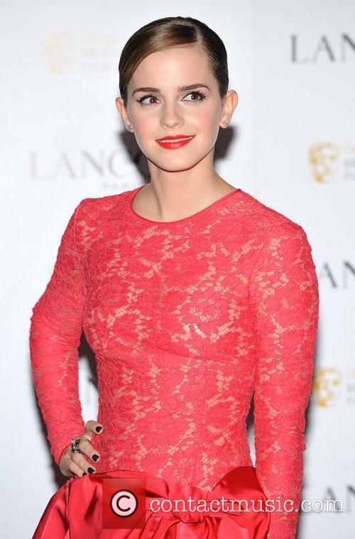 Emma Watson and Bafta 1