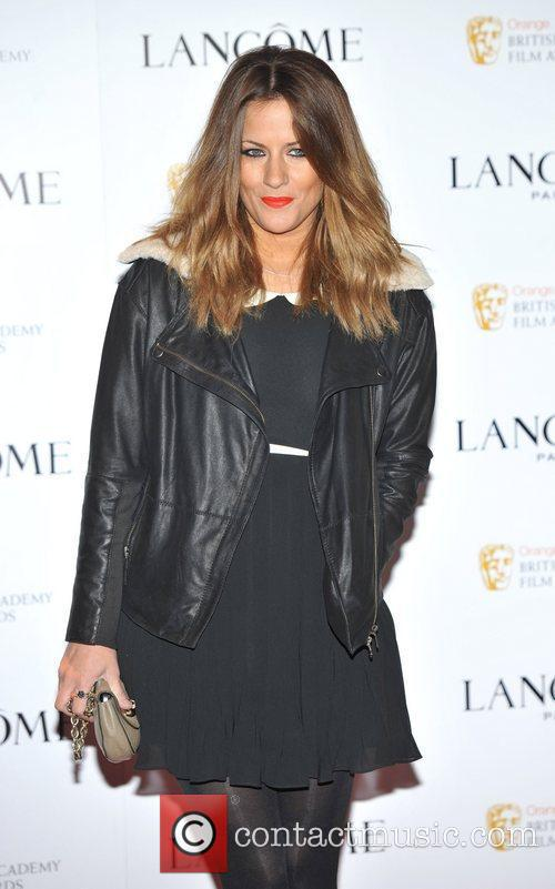 Caroline Flack Lancome pre-BAFTA cocktail party held at...