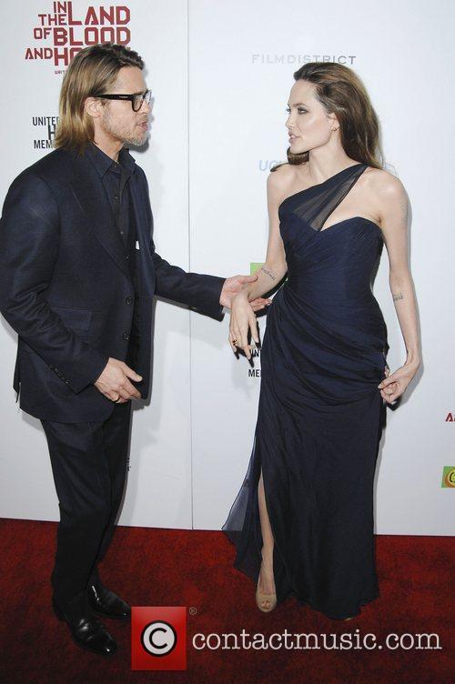 Brad Pitt, Angelina Jolie and Arclight Cinemas 4