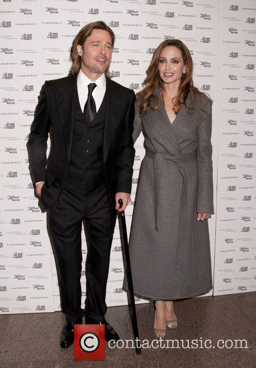 Brad Pitt and Angelina Jolie Special screening of...