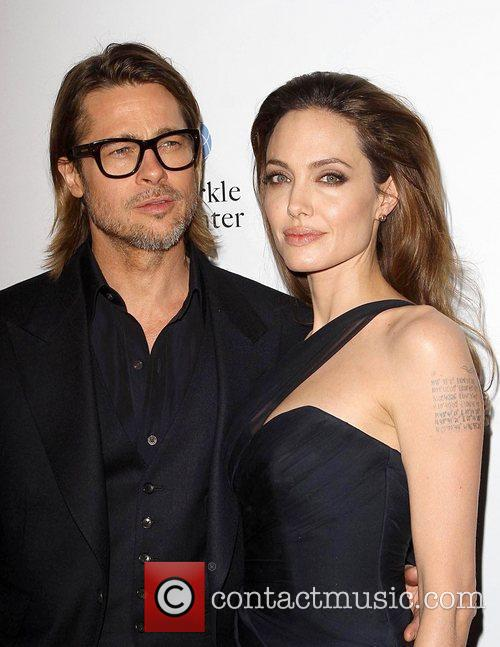Brad Pitt, Angelina Jolie and Arclight Cinemas 11