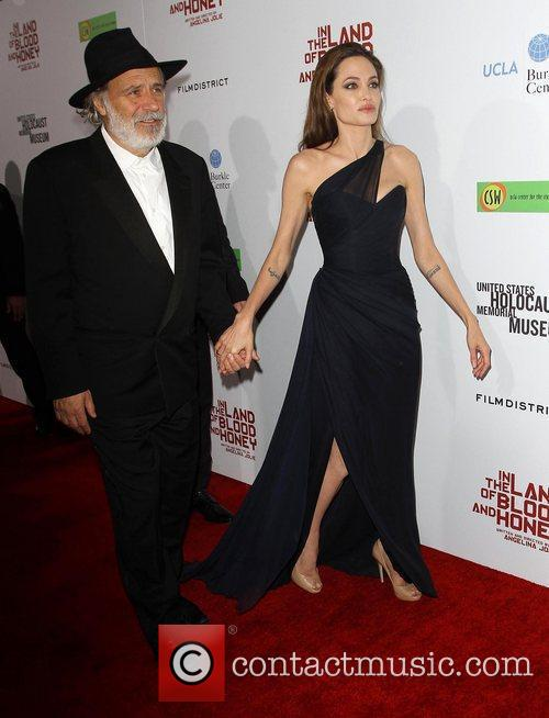 At the premiere of 'In the Land of...