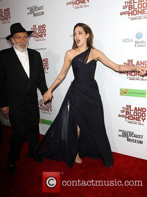 Rade Serbedzija, Angelina Jolie and Arclight Cinemas 4