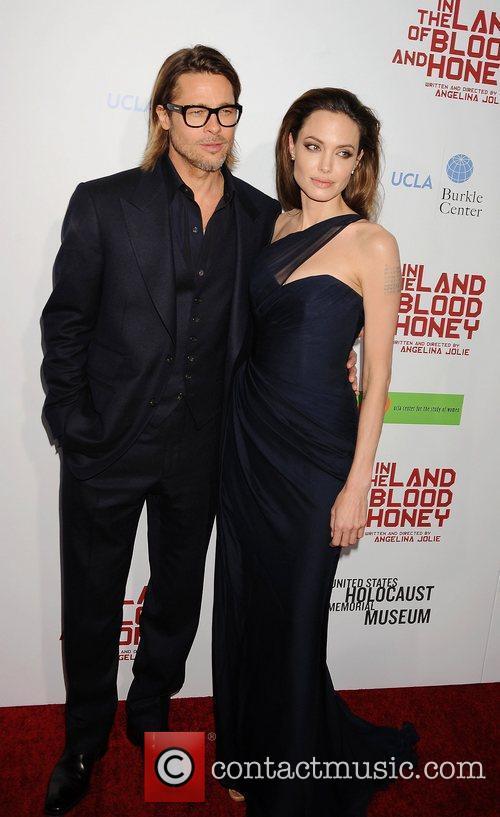 Brad Pitt, Angelina Jolie and Arclight Cinemas 1