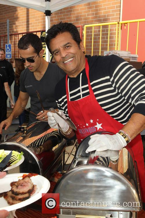Erik Estrada Hollywood Chamber, Of Commerce Salutes Hollywood, Division Police Officers and Fire Department Personnel 2