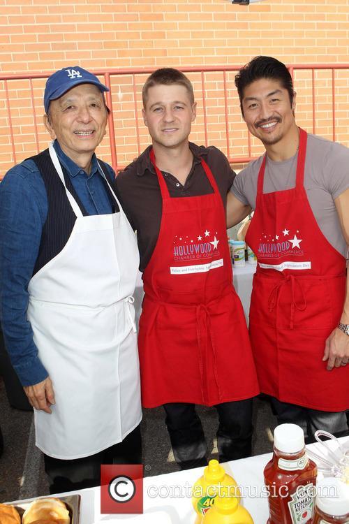 James Hong, Ben Mckenzie and Brian Tee 1