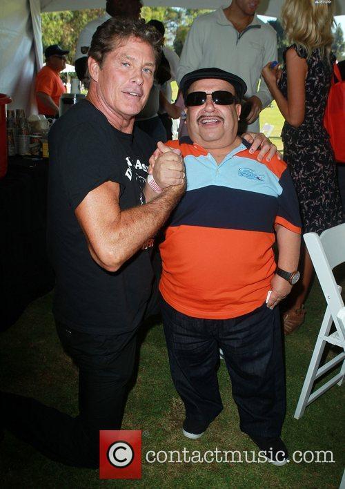 David Hasselhoff and Chuy Bravo 5