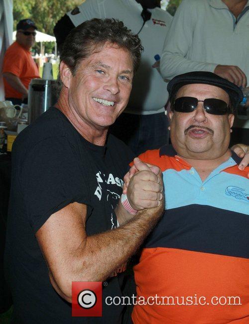 David Hasselhoff and Chuy Bravo 1