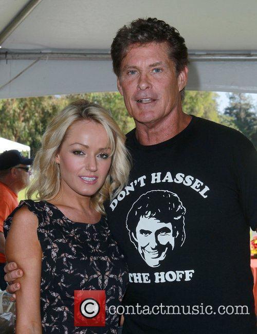 David Hasselhoff and Hayley Roberts 3