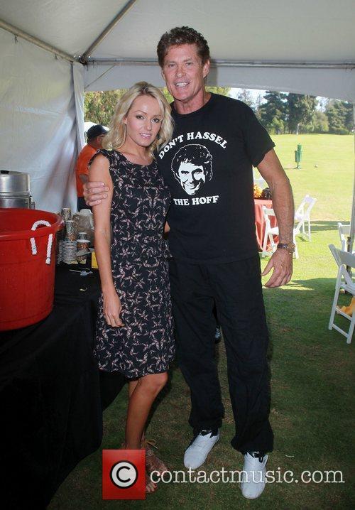 David Hasselhoff and Hayley Roberts 9