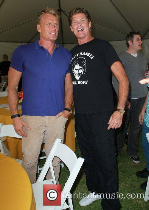 Dolph Lundgren and David Hasselhoff 2