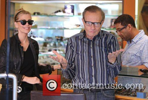 Larry King, Shawn King and Beverly Hills 30