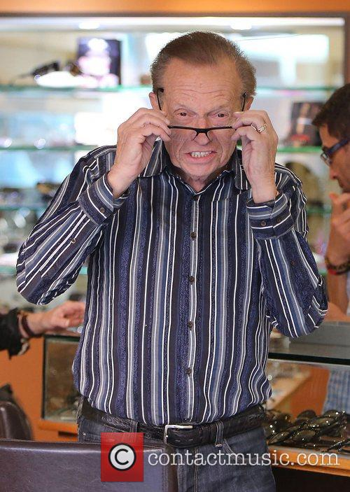 Larry King, Shawn King and Beverly Hills 7