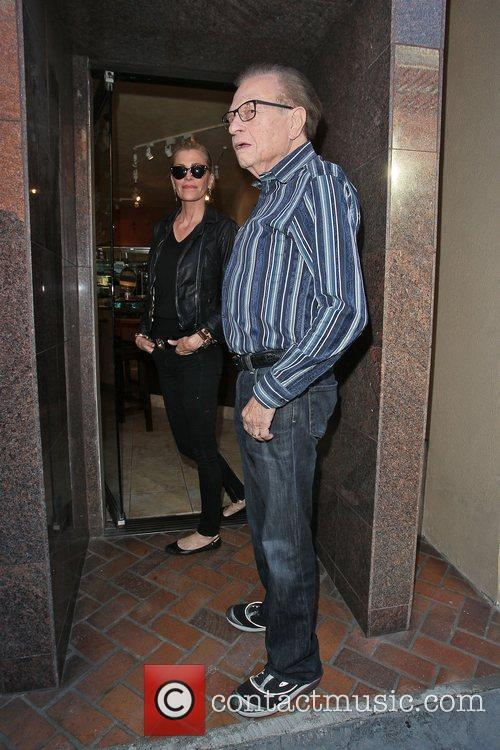 Larry King, Shawn King and Beverly Hills 12