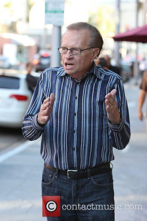 Larry King, Shawn King and Beverly Hills 19