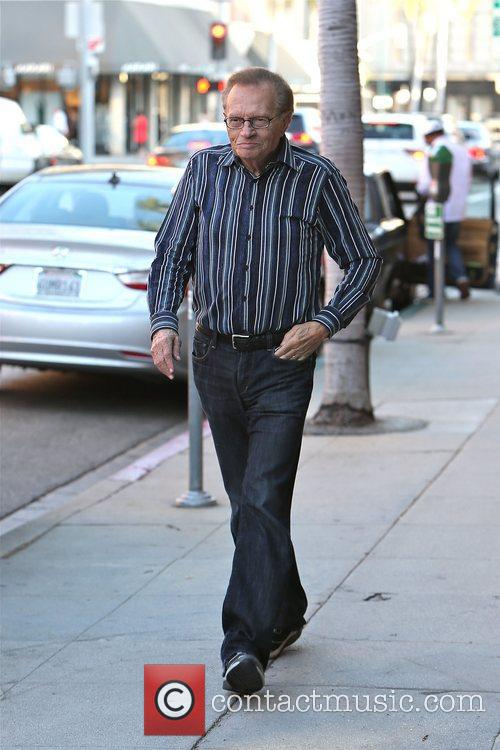 Larry King, Shawn King and Beverly Hills 13