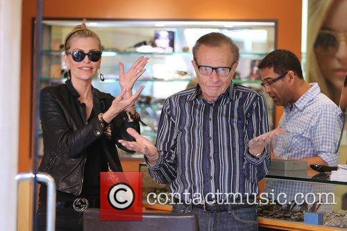Larry King, Shawn King and Beverly Hills 25