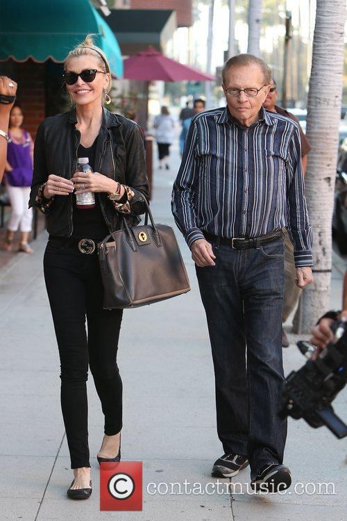 Larry King, Shawn King and Beverly Hills 1