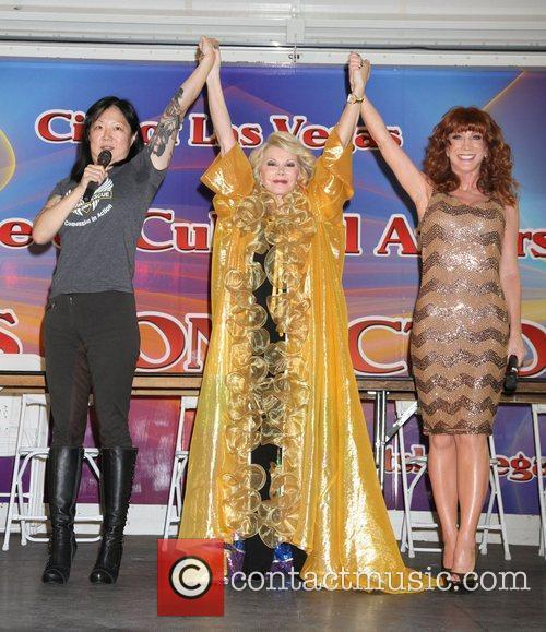 Margaret Cho, Joan Rivers and Kathy Griffin 1