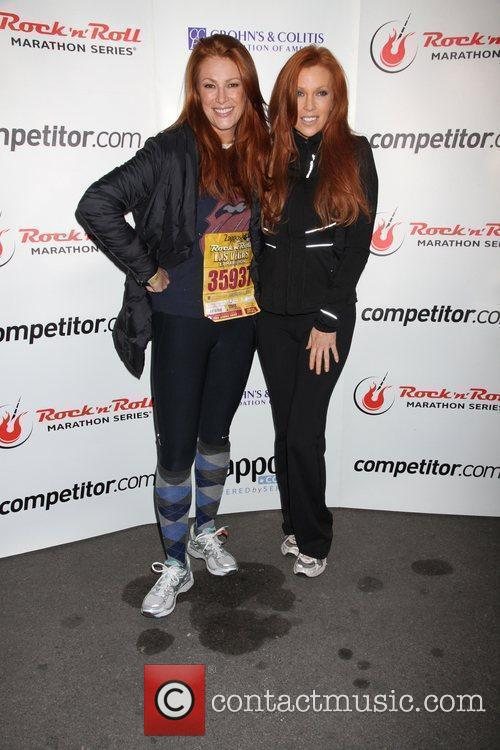 Angie Everhart and Angelica Bridges 2