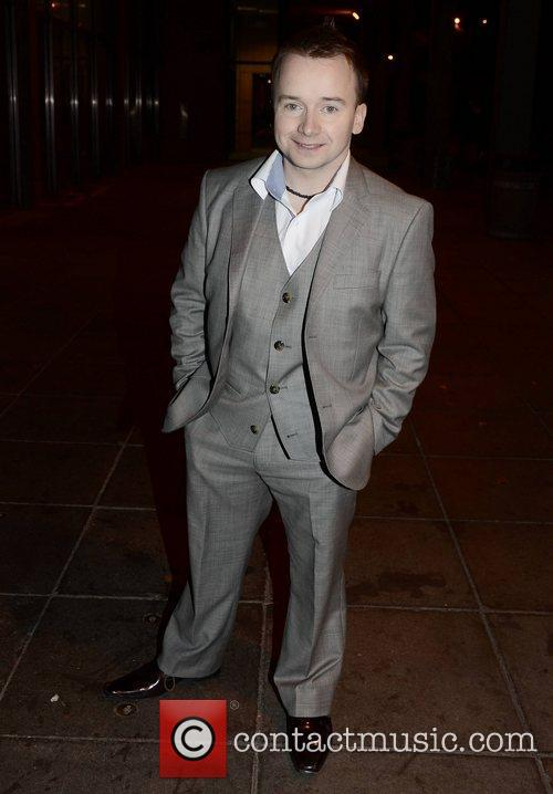 Richie Hayes Celebrities outside the RTE Studios for...