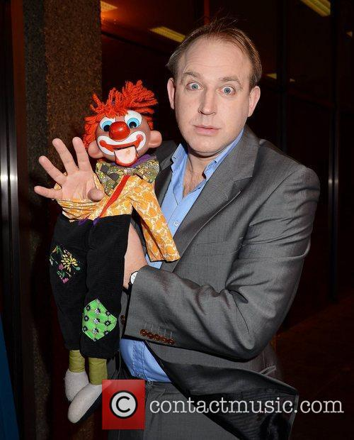 Tim Vine Celebrity guests appears on 'The Late...