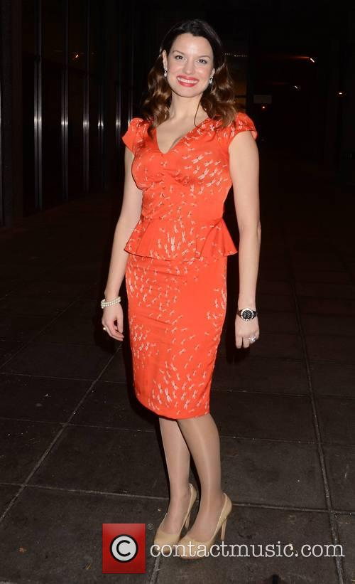Caroline Morahan Guests arrive at The Late Late...