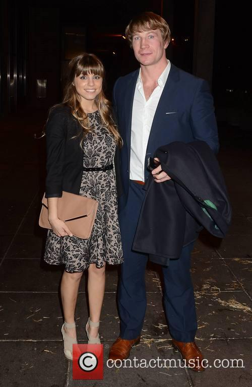 Jerry Flannery; Katie Barwell Guests arrive at The...