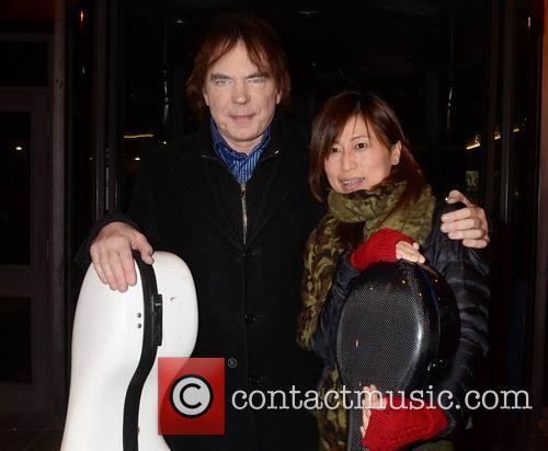 Julian Lloyd Webber; Jiaxin Cheng Guests arrive at...