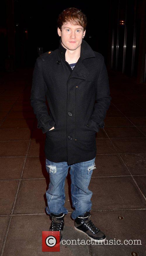 Kieran Behan Celebrities outside the RTE studios for...
