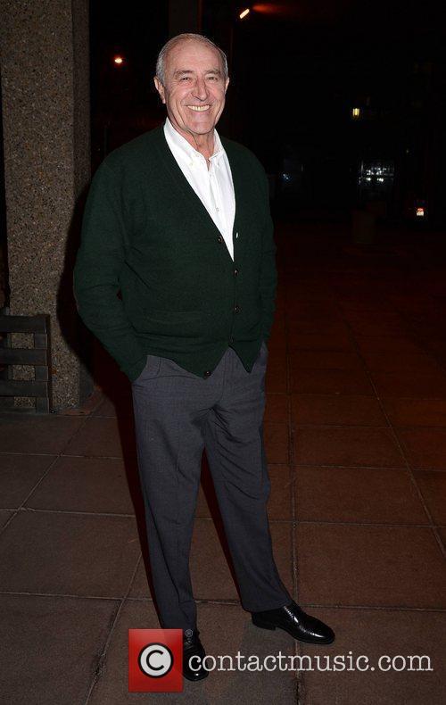 Len Goodman Celebrities outside the RTE studios for...