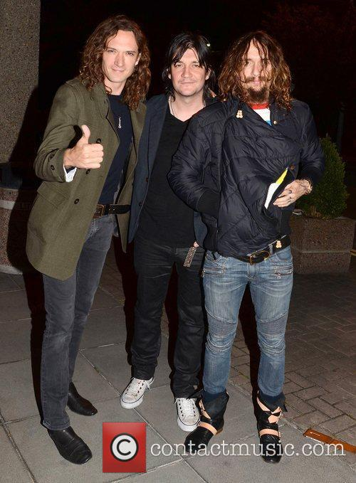 Dan Hawkins, Justin Hawkins and The Darkness