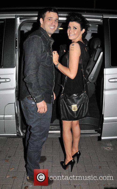kym marsh and jamie lomas outside the 3850794