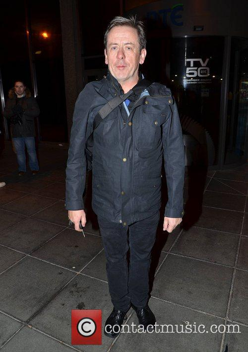 Luka Bloom arrives at  RTE studio to...