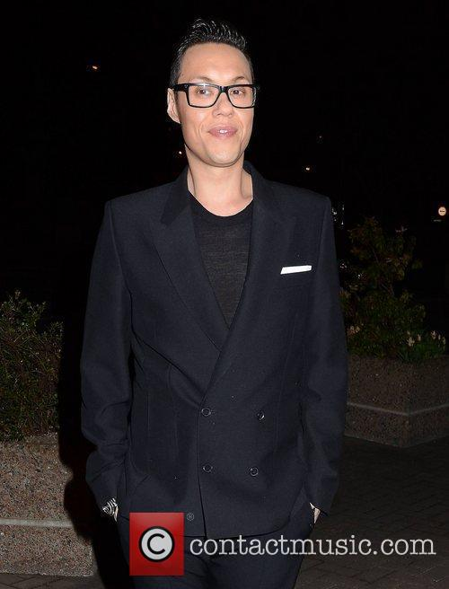 Gok Wan Celebrities outside the RTE studios for...