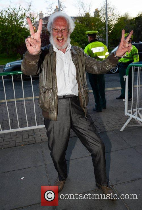 Eamonn Campbell Celebrities outside the RTE Studios for...