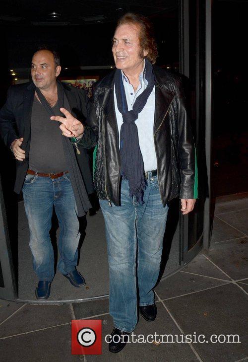 Engelbert Humperdinck Celebrities outside the RTE Studios for...