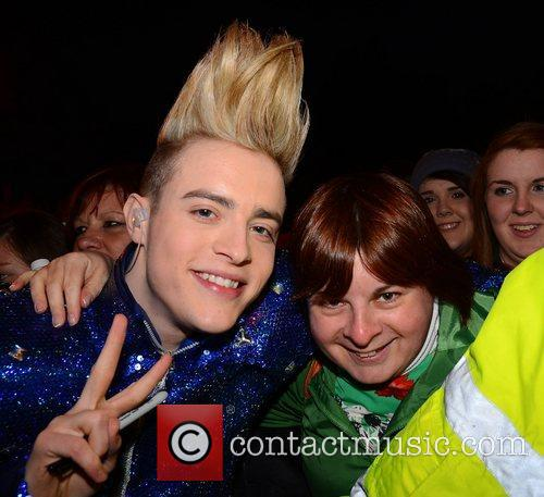 Jedward Celebrities outside the RTE Studios for 'The...