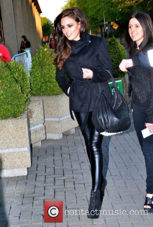 Nadia Forde Celebrities outside the RTE Studios for...