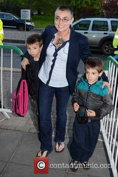 Sinead O'Connor with sons Shane and Yeshua Celebrities...
