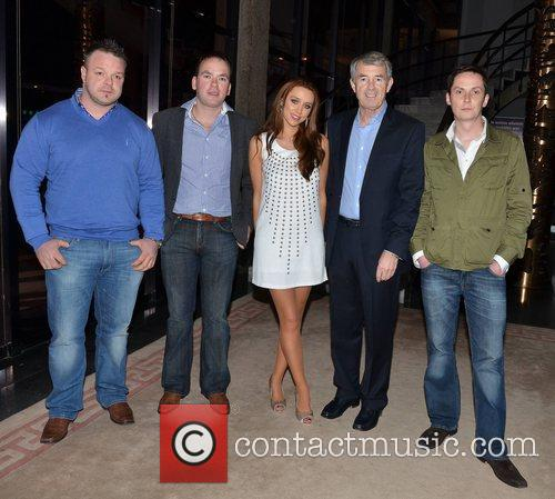 Una Healy and Michael Lowry TD with promotors...