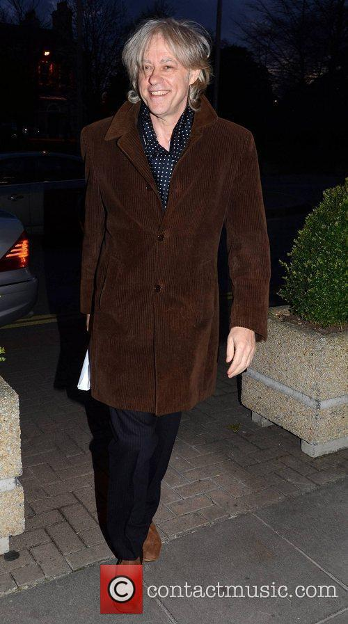 Bob Geldof and Rte Studios 4