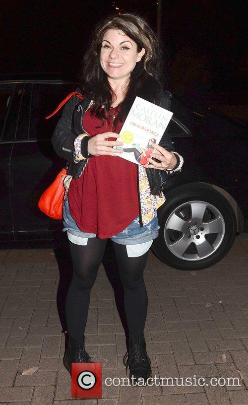 Caitlin Moran Celebrities outside the RTE Studios for...
