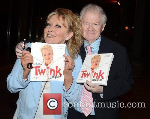 Adele King aka Twink and Publicist John O'Connor...