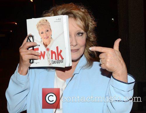 Adele King aka Twink Celebrities outside the RTE...