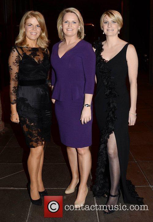 Marietta Doran, Lorraine Higgins and Averil Power Celebrities...