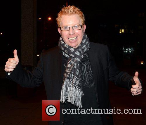 Tommy Fleming Celebrities outside the RTE Studios for...