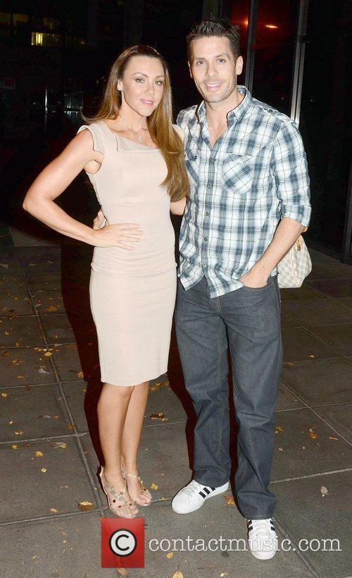 Michelle Heaton and Hugh Hanley 1