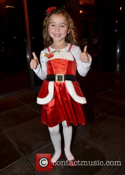 Ava Eustace Celebrities outside the RTE studios for...